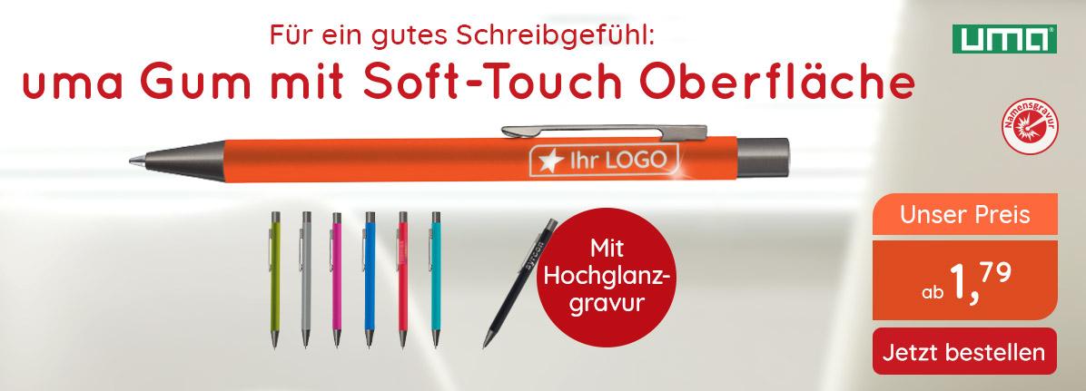 Metall-Kugelschreiber Gum – Saalfrank Qualitäts-Werbeartikel