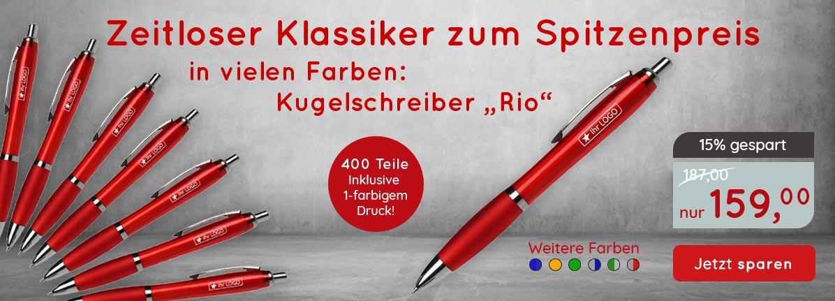 Rio Sparset Kugelschreiber – Saalfrank Qualitäts-Werbeartikel