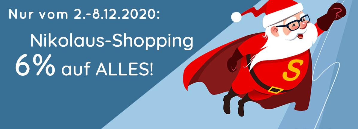 6% Nikolaus-Rabatt sichern – Saalfrank Qualitäts-Werbeartikel