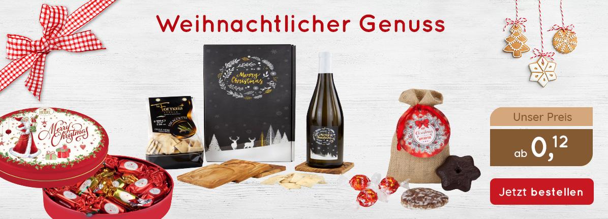 Weihnachtlicher Genuss – Saalfrank Qualitäts-Werbeartikel