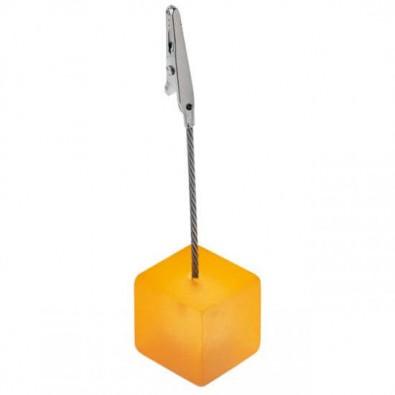 Memohalter Cube, Orange/Frostet