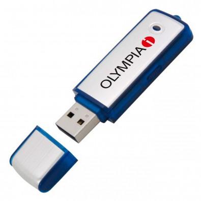 USB-Stick Save, Blau, 8 GB