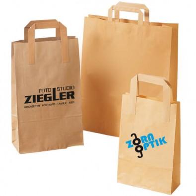 Werbe Papiertragetaschen mit Logo bedrucken lassen
