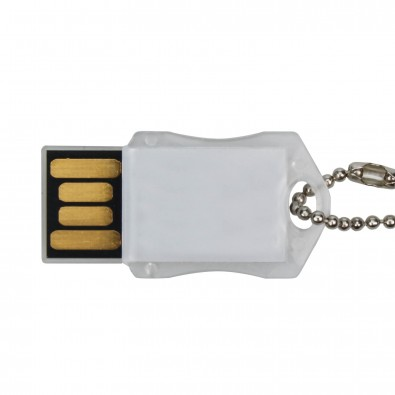 USB-Stick Transparent, 8 GB