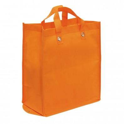 Faltbare Vlies-Einkaufstasche Amica, Orange