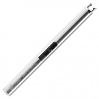 Lichtbogen Feuerzeug Future Elegance, Silber