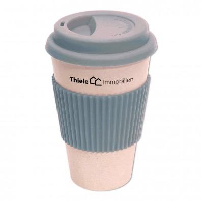 Coffee to go Becher Geo Cup, Grau