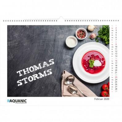 Tischkalender Magic Pix Panorama A4 Bestseller