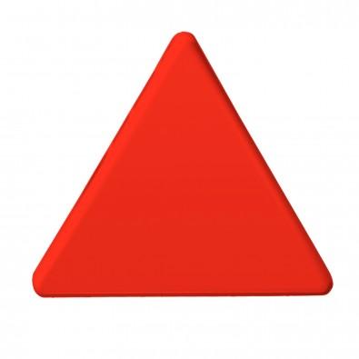 Magnet Dreieck, standard-rot