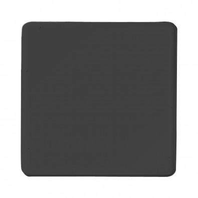 Magnet Quadrat, schwarz