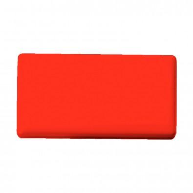 Magnet Rechteck Maxi, standard-rot