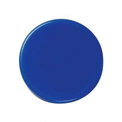 Magnet Rund, standard-blau PS
