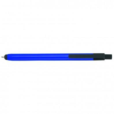 Touch-Metallkugelschreiber Touch Point, Blau