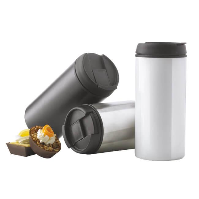 Coffee-to-go Becher als Werbeartikel oder Thermobecher mit Werbeaufdruck bei Saalfrank